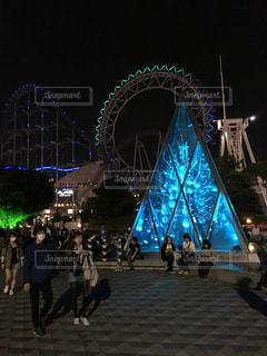 東京ドームシティの写真・画像素材[139789]