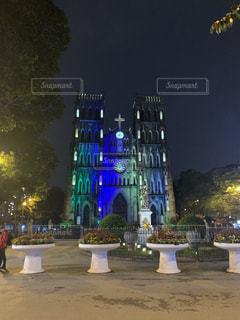 ベトナムハノイの教会の写真・画像素材[3103181]