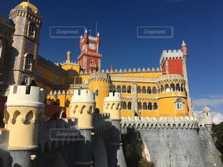 ポルトガル ペナ宮の写真・画像素材[3103567]