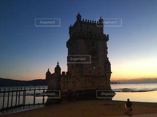 ポルトガル ベレンの塔の写真・画像素材[3103616]