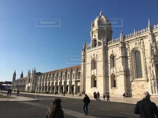 ポルトガル ジェロニモス修道院の写真・画像素材[3103632]