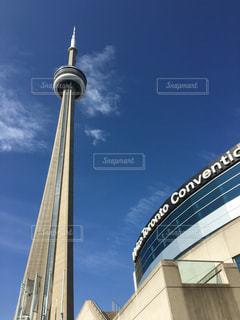 カナダトロント CNタワーの写真・画像素材[3114932]