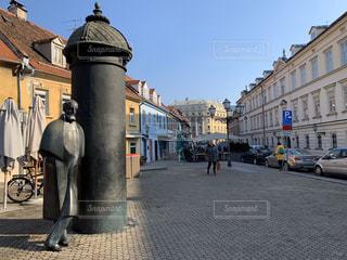 クロアチア 街の通りの写真・画像素材[3205467]