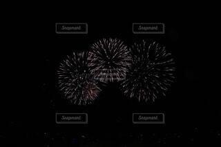 シドニーのニューイヤーの花火2019-2020の写真・画像素材[3661412]