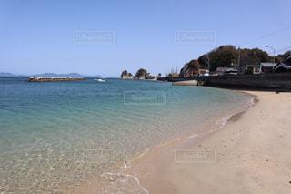 青い空青い海の写真・画像素材[3086219]