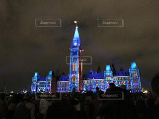 カナダの国会議事堂の写真・画像素材[3087958]