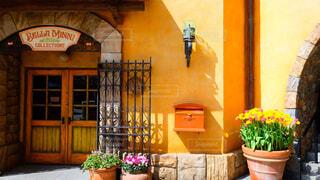 ディズニーシー ヨーロッパ風建物の写真・画像素材[4261255]