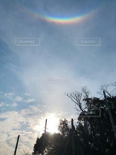 環天頂アーク(逆さ虹)の写真・画像素材[3089164]