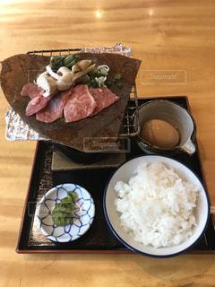 朴葉味噌の定食の写真・画像素材[3100050]