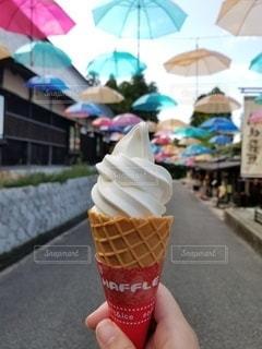 ソフトクリームの写真・画像素材[3116251]