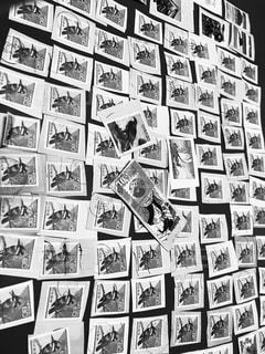 祖父が集めた切手の写真・画像素材[3091840]