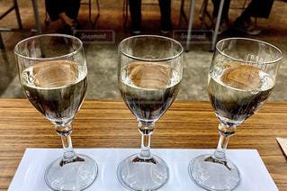 日本酒の飲み比べの写真・画像素材[3100321]