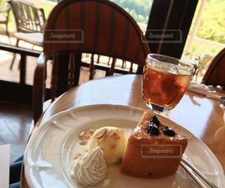 午後のケーキの写真・画像素材[3133239]