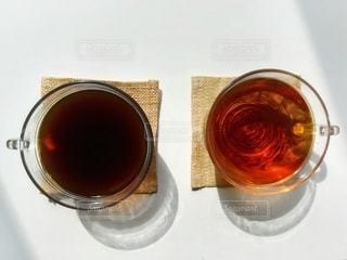 コーヒーと紅茶03の写真・画像素材[3140529]