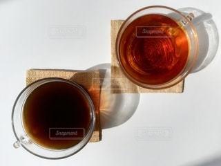 コーヒーと紅茶04の写真・画像素材[3140537]