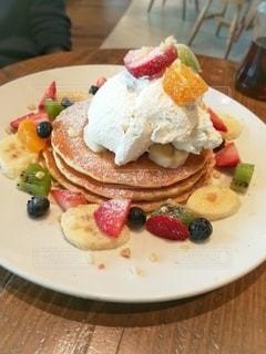 フルーツパンケーキ02の写真・画像素材[3354078]