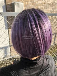 紫色の写真・画像素材[3164766]