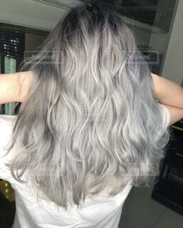 髪の毛の写真・画像素材[3851227]
