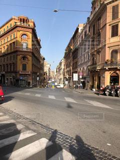 イタリアの通りの写真・画像素材[3097966]