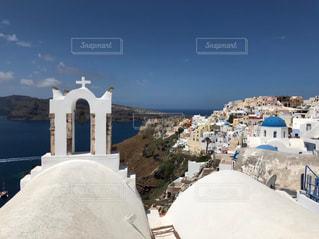サントリーニ島風景の写真・画像素材[3097973]