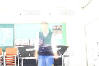 教室の写真・画像素材[215819]