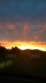 夕日の眺めの写真・画像素材[3101233]