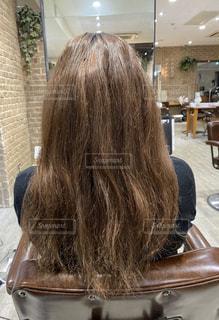 傷みきった髪の毛の写真・画像素材[3129848]