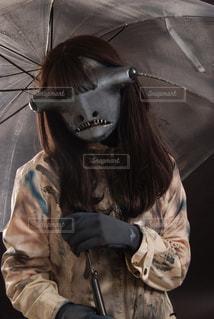 特殊メイク ハンマーヘッドシャークの写真・画像素材[3130480]