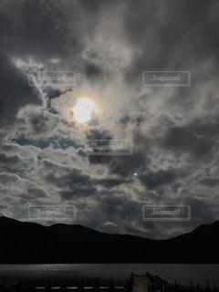 空の雲の群の写真・画像素材[3109395]