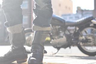 バイクの写真・画像素材[130834]