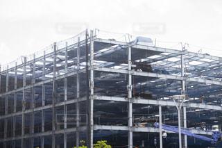立体駐車場 建設中の写真・画像素材[3118667]