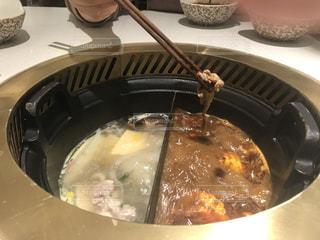 鴛鴦火鍋 中華料理の写真・画像素材[3120532]