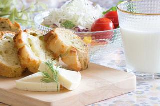 朝食 トーストの写真・画像素材[3121593]