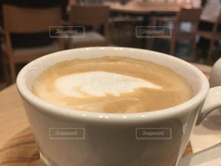 ホットコーヒー カフェラッテの写真・画像素材[3124457]