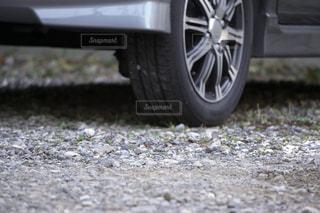 砕石の駐車場の写真・画像素材[3125268]