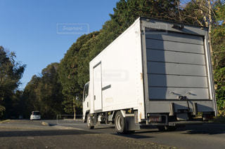 箱トラック 輸送トラックの写真・画像素材[3134955]