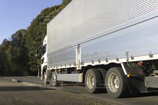 箱トラック 輸送トラックの写真・画像素材[3134960]