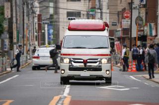 救急車 事件現場の写真・画像素材[3170492]