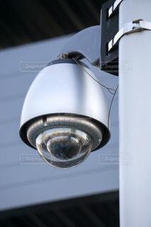 防犯カメラ 360度撮影の写真・画像素材[3200870]