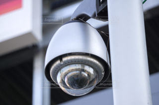 防犯カメラ 360度の写真・画像素材[3200873]