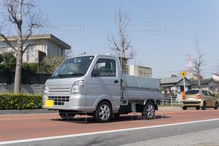 軽トラック 平ボディの写真・画像素材[3226262]