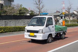 軽トラック グリンシートの写真・画像素材[3233622]