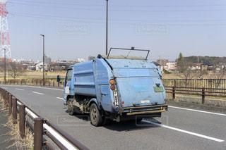 ごみ収集車 清掃車の写真・画像素材[3258216]