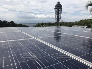 太陽光発電 ソーラーパネルの写真・画像素材[3360337]