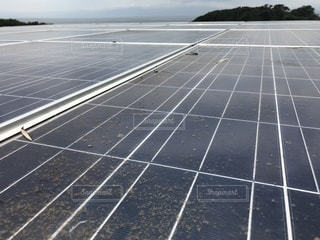 太陽光発電 ソーラーパネルの写真・画像素材[3360437]