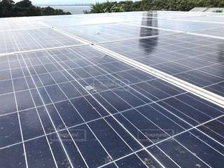 太陽光発電 ソーラーパネルの写真・画像素材[3361841]