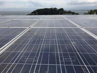 太陽光発電 ソーラーパネルの写真・画像素材[3361844]