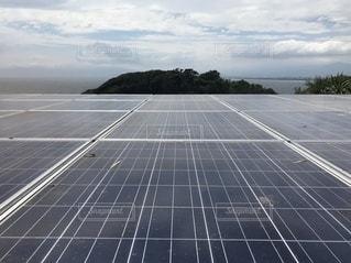 太陽光発電 ソーラーパネルの写真・画像素材[3361840]