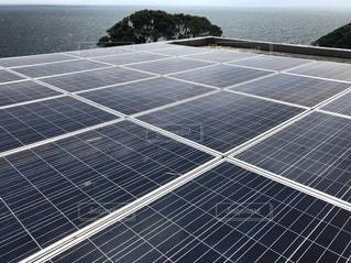 太陽光発電 ソーラーパネルの写真・画像素材[3361842]