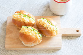 たまごサンドイッチ 朝食の写真・画像素材[3408687]